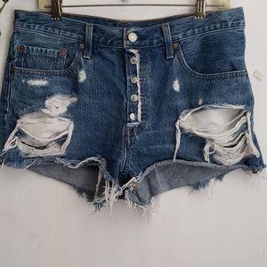 Levi 501 Original Jean's Shorts